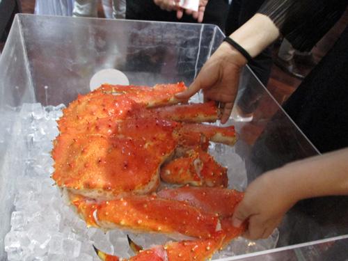 nhập khẩu hải sản alaska